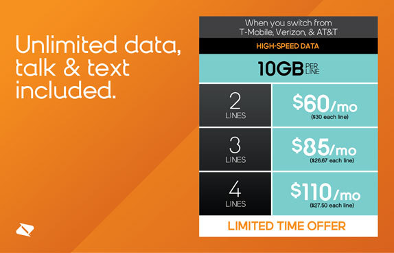 Save Up to 50 Percent When You Ditch T-Mobile, AT&T or Verizon and ...
