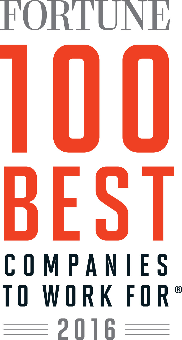 Hilton worldwide named one of the 2016 fortune 100 best for Best modern logos 2016