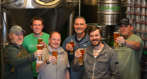 Leadership of Audacity Brew House at Travelstead (Photo: Business Wire)
