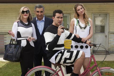 "Pop announces third season of ""Schitt's Creek,"" starring Catherine O'Hara, Eugene Levy, Daniel Levy  ..."