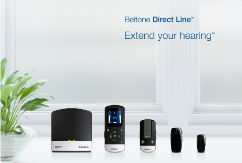 Beltone's new family of Direct LineTM wireless accessories allow hearing aid wearers to engage and interact in any hearing situation, from watching television to having a conversation at a distance or talking on the phone.