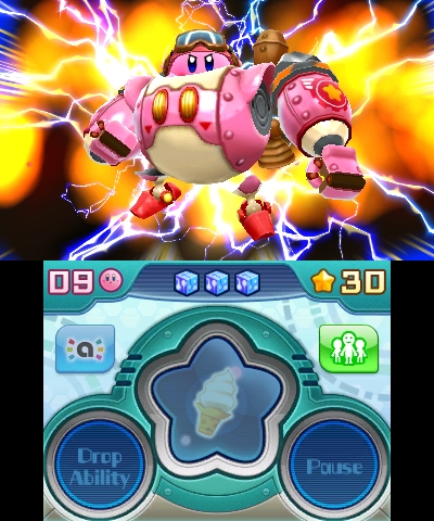 In Kirby: Planet Robobot, invaders have mechanized Dream Land. (Graphic: Business Wire)
