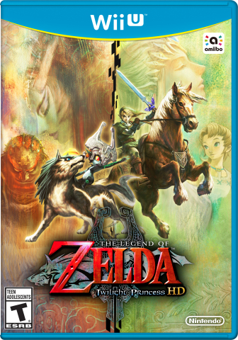 The Legend of Zelda: Twilight Princess HD launches for Nintendo's Wii U home console today, complete with enhanced visuals, new challenges and a Wolf Link amiibo figure that is included with the physical version of the game. (Photo: Business Wire)