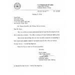 U.S. Attorney letter