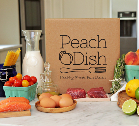 Homewood Suites by Hilton and PeachDish create first-time meal-kit delivery partnership for hotel guests.(Photo: Business Wire)