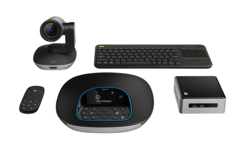 Logitech ConferenceCam Kit with Intel NUC is an Affordable, Simple and Complete Solution for Conference Rooms (Photo: Business Wire)