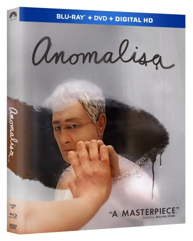 From Academy Award®-Winner* Charlie Kaufman Comes One of the Most Critically Acclaimed Films of the Year, ANOMALISA, Debuting on Digital HD March 15, On Demand March 29 and on Blu-ray™ Combo Pack May 3. (Photo: Business Wire)