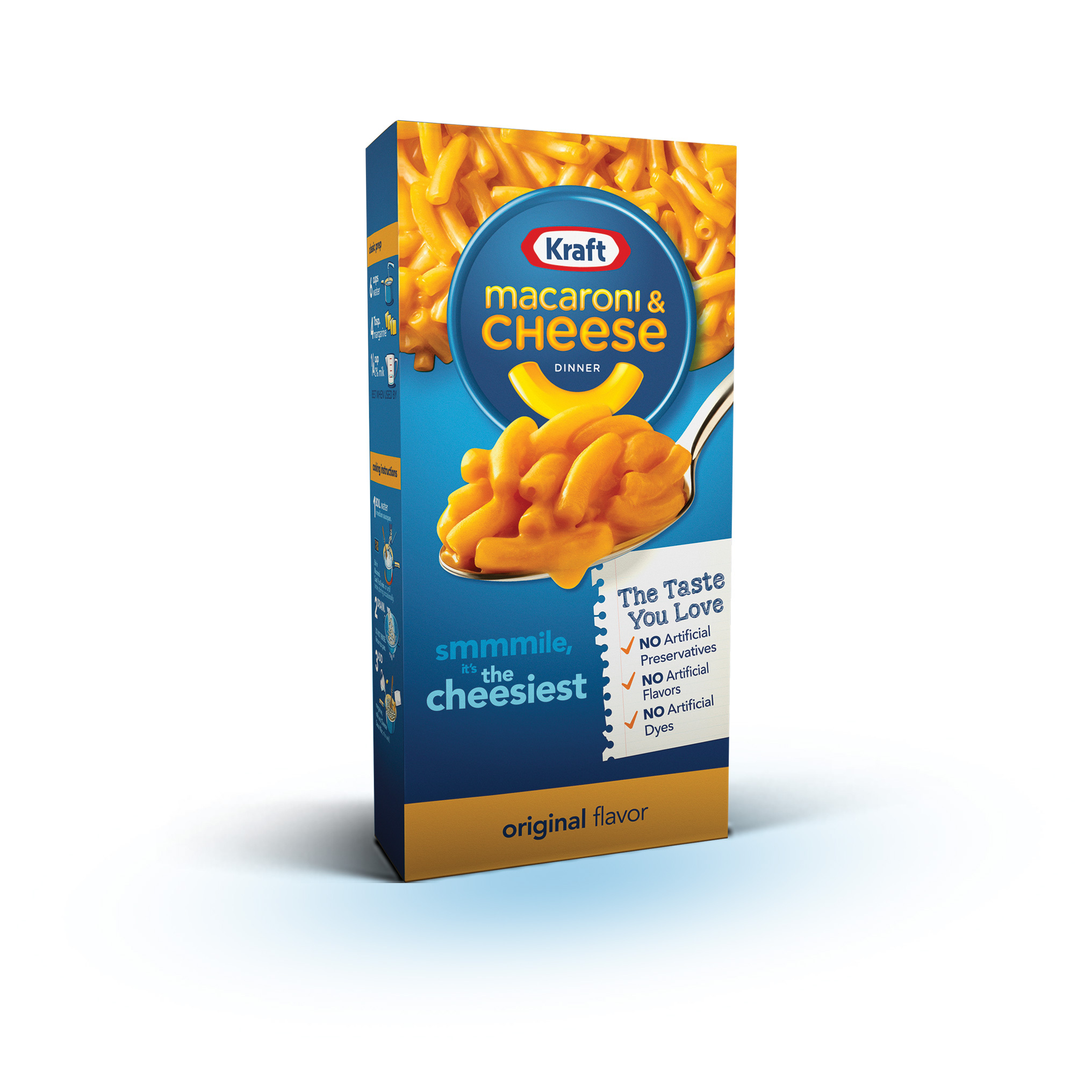 Kraft Macaroni and Cheese New Product Package (Photo: Business Wire)