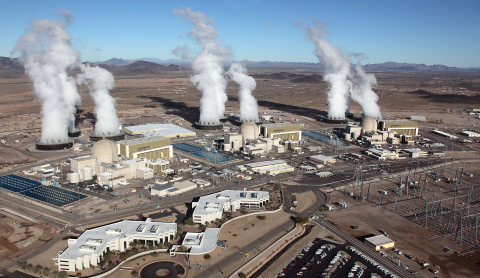 For the 24th consecutive year, the APS-operated Palo Verde Nuclear Generating Station was the nation's largest power producer, generating 32.5 million megawatt-hours (MWh) of carbon-free electricity in 2015. (Photo: Business Wire)