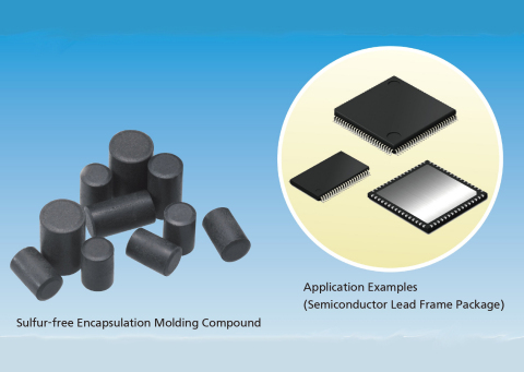 Copper wire applicable sulfur-free encapsulation molding compound (Graphic: Business Wire)