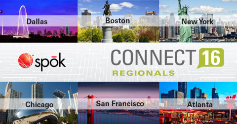 Spok's annual healthcare communications conference, Connect 16, will be a series of day-long program ...