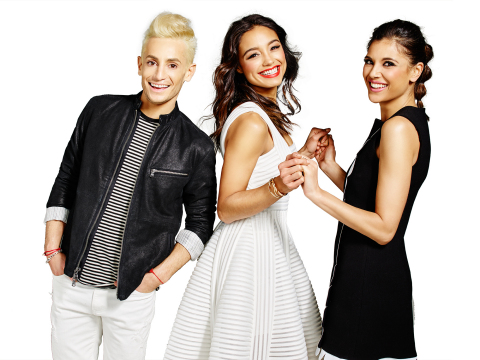 Frankie Grande, Rachel Smith, and Lyndsey Rodrigues host Style Code Live, Amazon's first, daily live show which streams free weeknights at 9 ET/ 6 PT  (Photo: Business Wire)