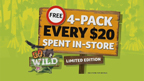 "Winn-Dixie TV Commercial: The Animals of America collector program is a way to ""Go Wild"" and educate kids on local animals that are important to our ecosystem."