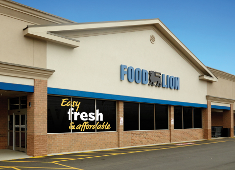 Food Lion Store Front (Photo: Business Wire)