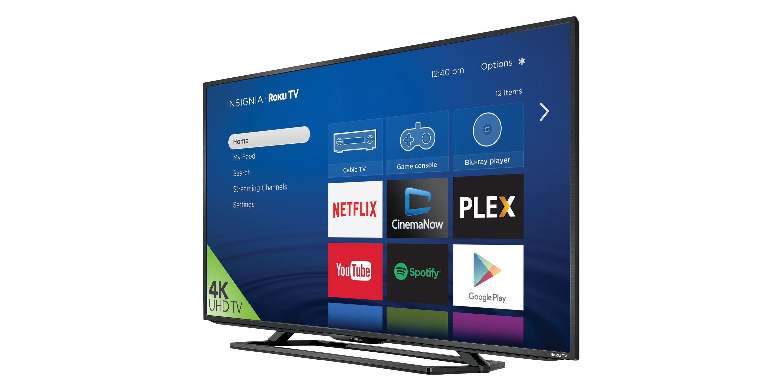 Roku Announces Availability of 4K UHD Insignia Roku TVs at Best Buy