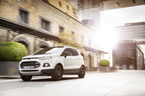 Ford of Europe's drive to increase its SUV sales continued in February, with the EcoSport compact SU ...