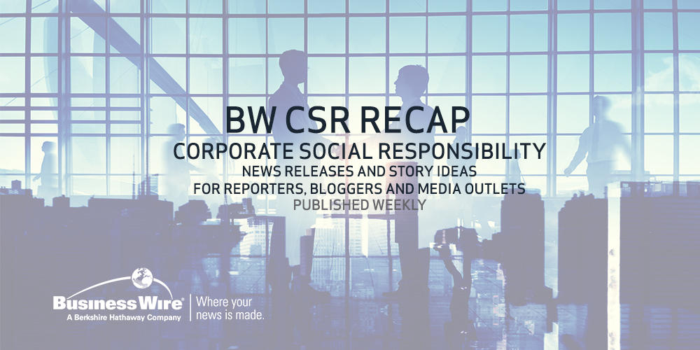 Corporate Social Responsibility Related News Releases and Story ...