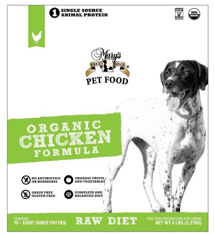 Mary's Free Range pet food brand gets a new packaging design as they partner with Superior Farms Pet Provisions to go to market nationally. (Graphic: Business Wire)
