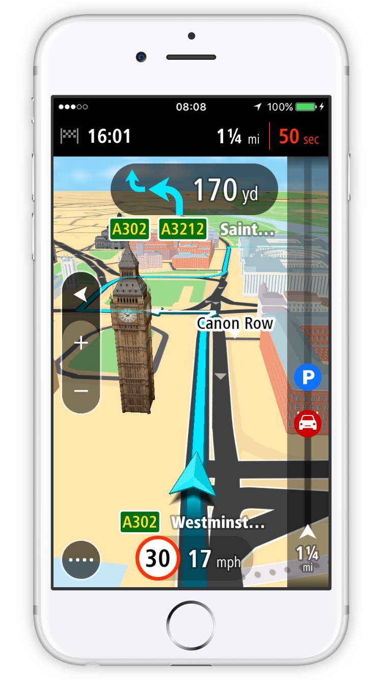 Tomtom Go Mobile Now Available For Iphone Photo Business Wire