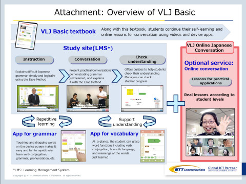 Overview of VLJ Basic (Graphic: Business Wire)