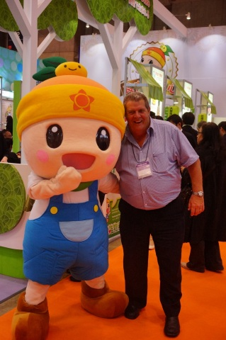 Mascot Kao Tong Tong Promoted Premium Kaohsiung Products Successfully in Japan (Photo: Business Wire ...