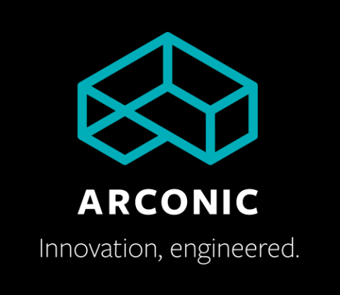 "The logo and tagline of Alcoa's future Value-Add company, unveiled today - ""Arconic: Innovation, Engineered."" Alcoa will separate into two leading-edge companies later this year. (Graphic: Business Wire)"
