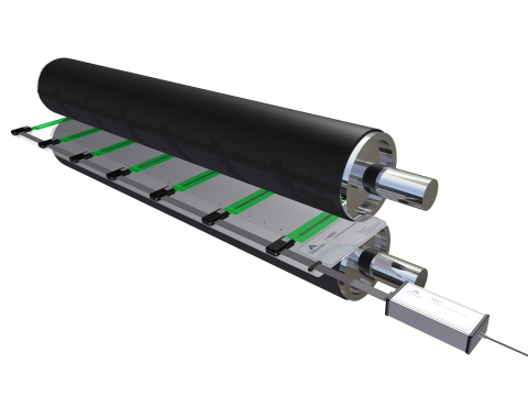 Nip Pressure Alignment Tool between Rollers (Photo: Business Wire)