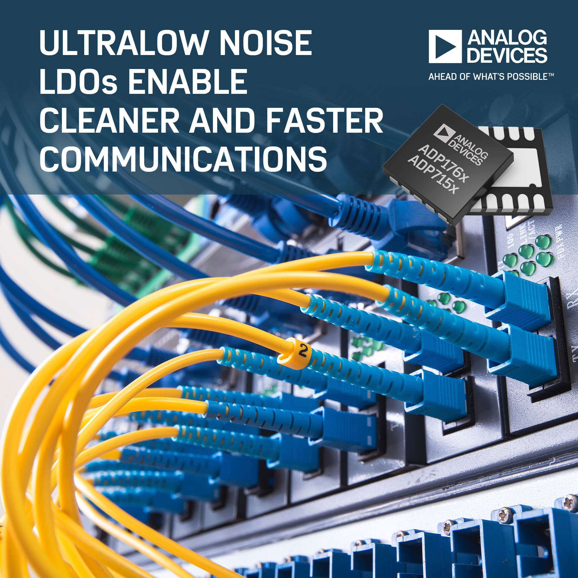 Analog Devices\' Low Dropout Regulators Enable Cleaner and Faster ...