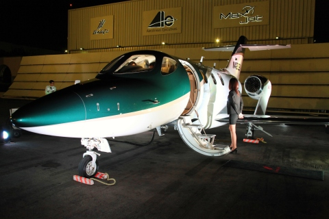 The HondaJet has received type certification from the Civil Aviation Safety Authority of Mexico, the Dirección General de Aeronáutica Civil (DGAC). The world's most advanced light jet will make its debut at 2016 Aero Expo at the Toluca International Airport from March 16 to 18. (Photo: Business Wire)