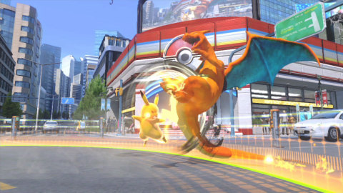 Perform vivid Pokémon moves using an intuitive fighting system and unleash devastating attacks upon your opponent to become the Pokkén Tournament champion! Pokkén Tournament will be available on March 18. (Photo: Business Wire)