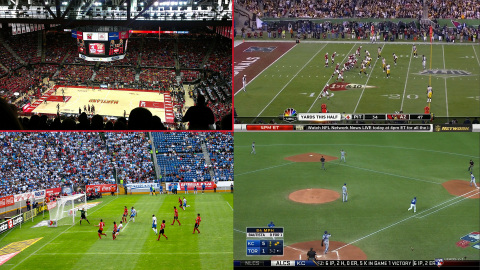 Sports Bar Mode launched on DISH's Hopper 3. This feature divides a 4K or HDTV screen into quadrants ...