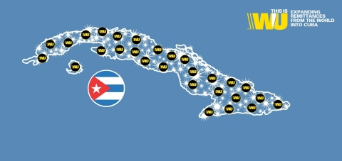 Western Union Expands in Cuba: Connects the world (Graphic: Business Wire)