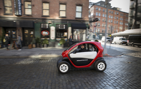 Nissan New Mobility Concept (Photo: Business Wire)