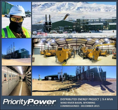 Distributed Energy Project, Wind River Basin, Wyoming (Photo: Business Wire)