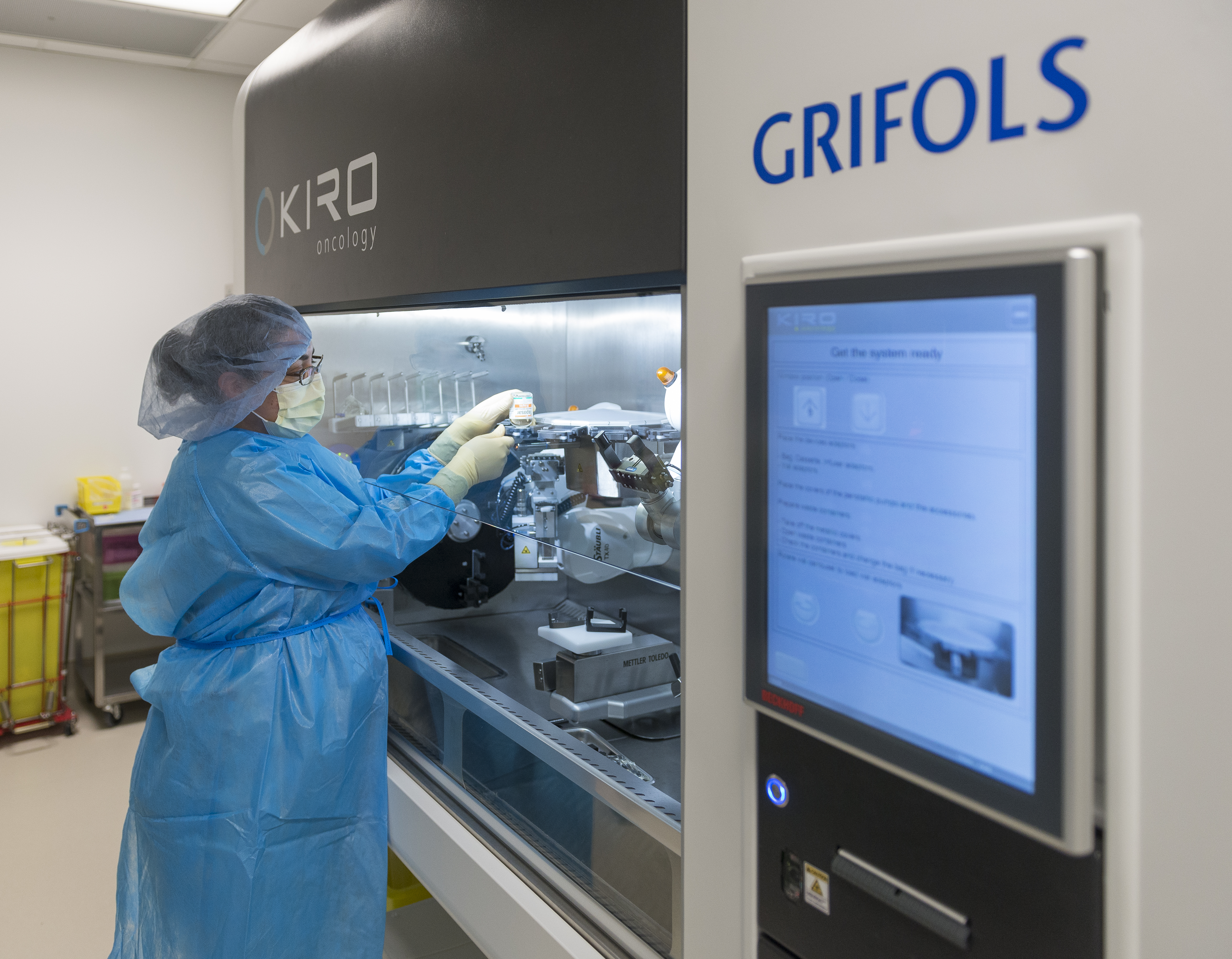 Lurie Children's Hospital Selects Grifols KIRO® Robot to Increase