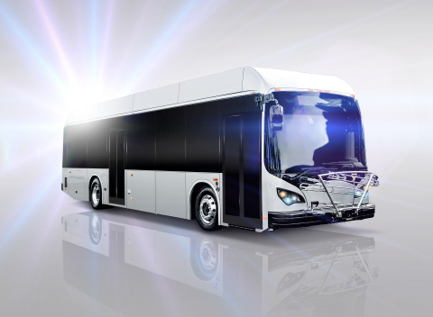 BYD K9 40ft battery-electric transit bus which will be delivered to SolTrans Q3 2016 (Photo: Business Wire)