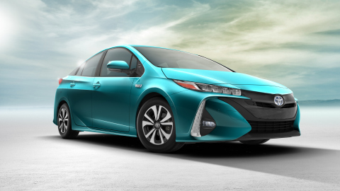 2017 Toyota Prius Prime (Photo: Business Wire)