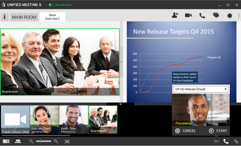 With the integration of Vidyo technology, the InterCall product portfolio, including Unified Meeting ...