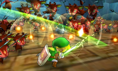 Experience New Characters As The Hyrule Warriors Series Comes To Nintendo 3ds Business Wire