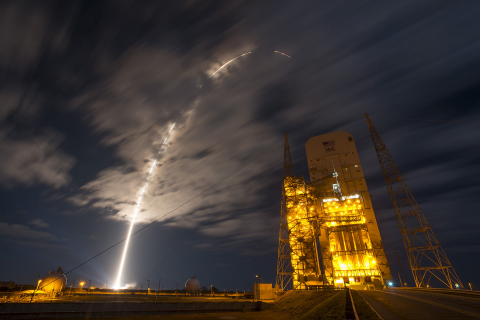 Using Stratasys FDM technology, ULA's Atlas V Rocket is the first vehicle to adopt 3D printing for serial production of thermoplastic components (Photo: Business Wire)