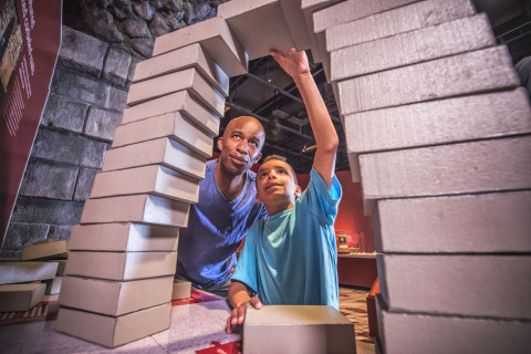 Maya: Hidden Worlds Revealed coming in May 2016 to the Mays Family Center for Special Exhibitions and Events at the Witte Museum features numerous interactive and hands-on activities. (Photo: Business Wire)