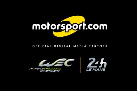 """Le Championnat du Monde d'Endurance de la FIA et l'ACO nomment Motorsport.com """"Partenaire Média Numérique Offi-ciel"""" du WEC et des 24 Heures du Mans. (Graphic: Business Wire)"""