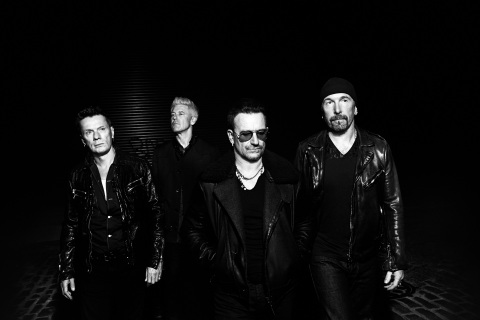 U2 To Receive 2016 iHeartRadio Innovator Award at the iHeartRadio Music Awards on Sunday, April 3, Live On TBS, TNT, and TRUTV (Photo: Business Wire)