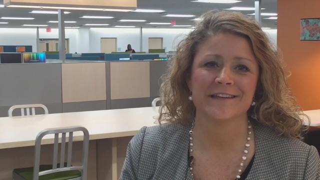 Interview UnitedHealthcare Community Plan of Iowa CEO Kim Foltz (Video: Kevin Herglotz).