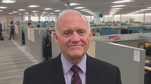 Interview with Davenport Mayor Frank Klipsch (Video: Kevin Herglotz).