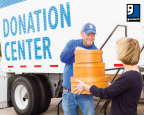 The Container Store's spring campaign includes two weekend events at their 79 locations nationwide where Goodwill representatives will be on hand to accept donations of new or used clothing, textiles, small appliances and household goods. Customers can also make monetary donations to Goodwill at The Container Store through the end of the campaign. (Photo: Business Wire)