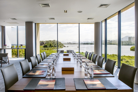 Grand Hyatt Rio de Janeiro Meeting Room (Photo: Business Wire)
