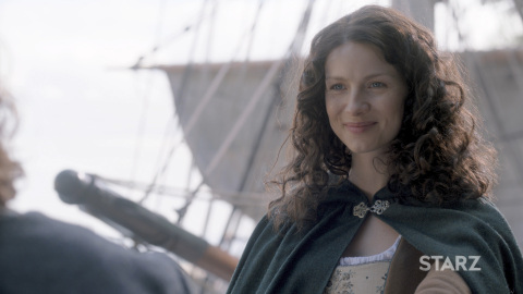 """Caitriona Balfe stars as Claire Fraser in """"Outlander,"""" one of the most """"obsessable"""" shows on all of television for Starz, which announced a new look, tagline and master brand mission for its flagship STARZ premium pay TV network. (Photo: Business Wire)"""