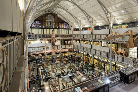 Soraa, the world leader in GaN on GaN LED technology, announced that its LED lamps have been installed at the Pitt Rivers Museum at the University of Oxford in Oxford, England. (Photo credit: Redshift Photography)