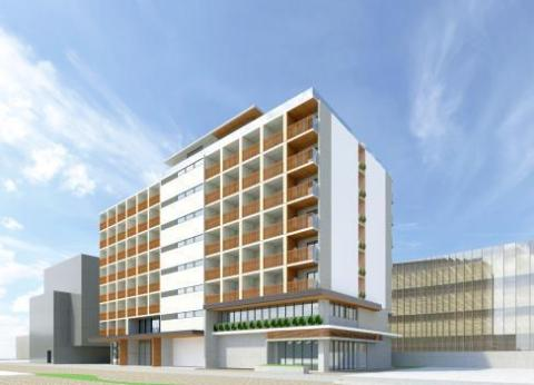 Town management center / international student dormitory (Graphic: Business Wire)